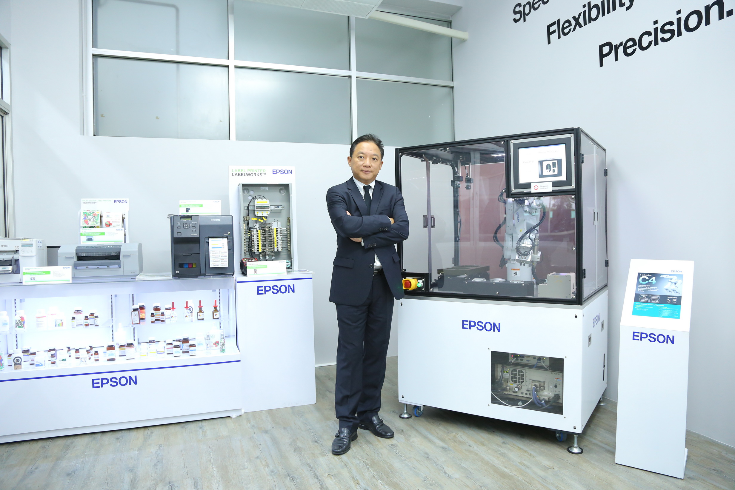 Epson Launches Robotics Innovation Center to Support   Thai Manufacturers' Use of Robots in Thailand 4.0 Era